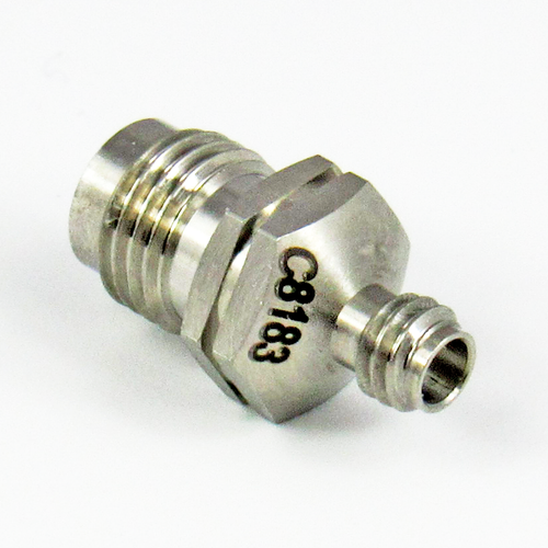 C8183 1.0mm Female to 1.85mm Female Adapter Centric RF