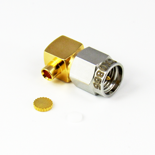 CX0865 SMA Male Right Angle18ghz 086 Cable Solder Connector Centric RF