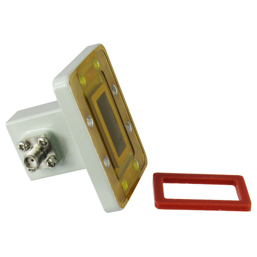 CWR90G WR90 to SMA Waveguide to Coax Adapter Centric RF
