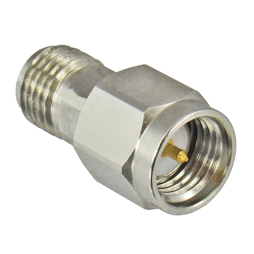 C27S-6 SMA Attenuator 27Ghz 6dB Male to Female 2Watts Centric RF