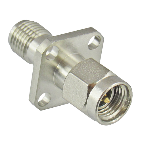 C7763 3.5mm to 3.5mm Flange Adapter M/F 34.5Ghz VSWR 1.25 Centric RF
