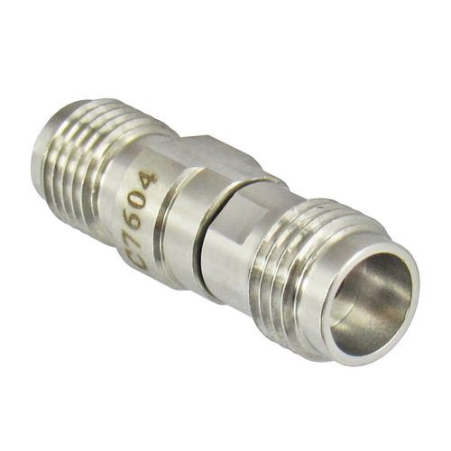 C7604 2.4mm Female to SMA Female Adapter VSWR 1.15 27Ghz Centric RF