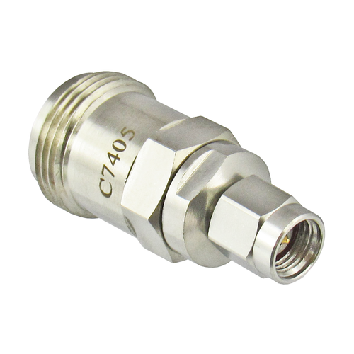 C7405 2.92mm Male to N Female Adapter VSWR 1.15 18GHZ Centric RF