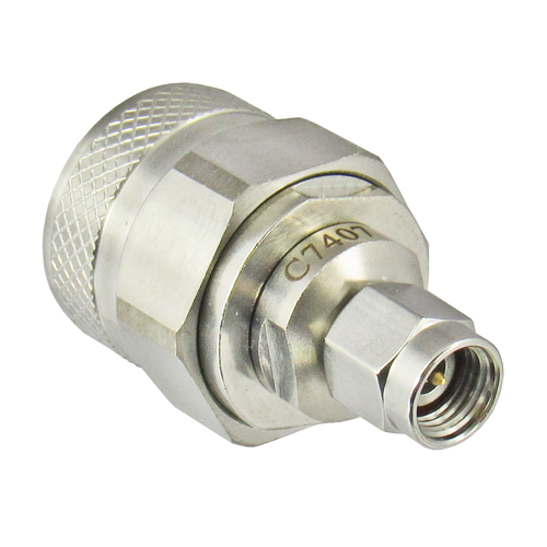 C7407 2.92mm Male to N Male Adapter VSWR 1.15 18ghz Centric RF