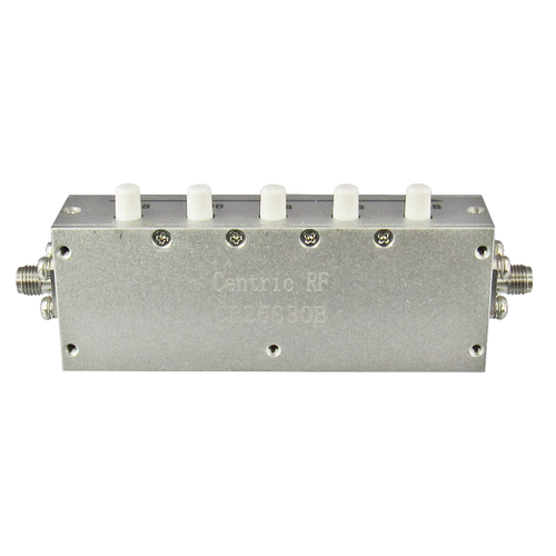 CR25S30B Push Button Attenuator 30db 2.5Ghz Centric RF