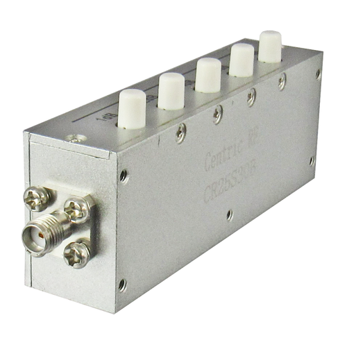 CR25S30B Push Button Attenuator 30db 2.5Ghz