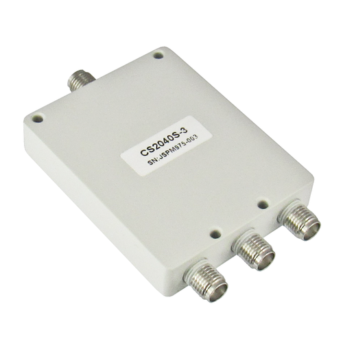 CS2040S-3 SMA Power Divider 3-way 2-4Ghz S Steel SMA Centric RF