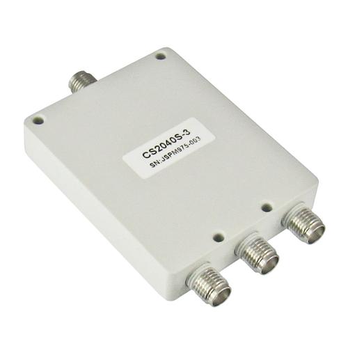 CS2040S-3 SMA Power Divider 3-way 2-4Ghz S Steel SMA Centric RF
