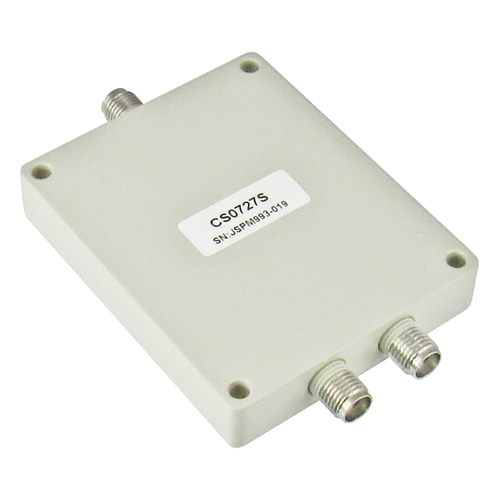CS0727S SMA Power Divider 2-way 0.7-2.7Ghz Centric RF