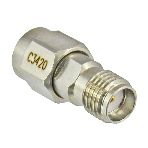 C3420 SMA Male to Female Adapter 18ghz Centric RF