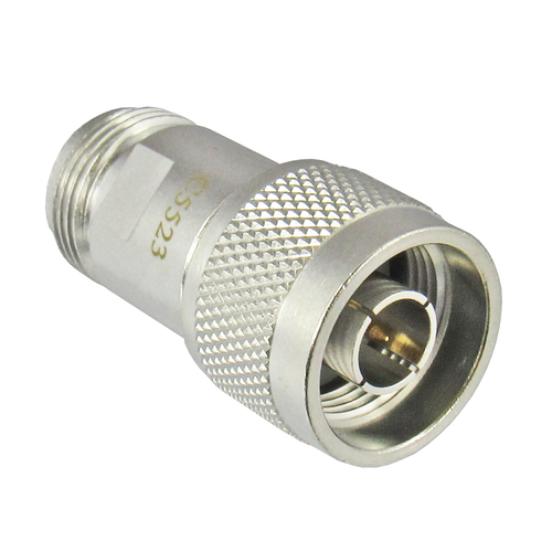 C5523 N Adapter 3Ghz 75ohm Male to Female Centric RF