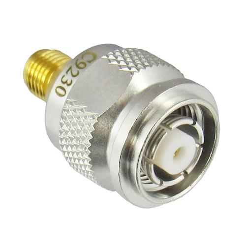 C9230 TNC Male Reverse Polarity to SMA Female Adapter Centric RF