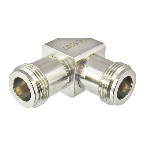 C5507 N Right Angle Female to Female Adapter Centric RF