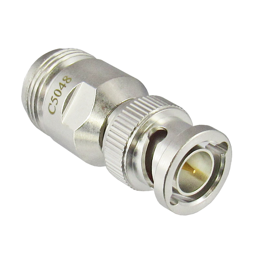 C5048 N Female 75 ohm to BNC Male 75 ohm Adapter Centric RF