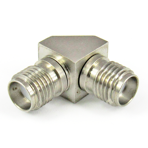 C3407 SMA F/F Right Angle Adapter Centric RF
