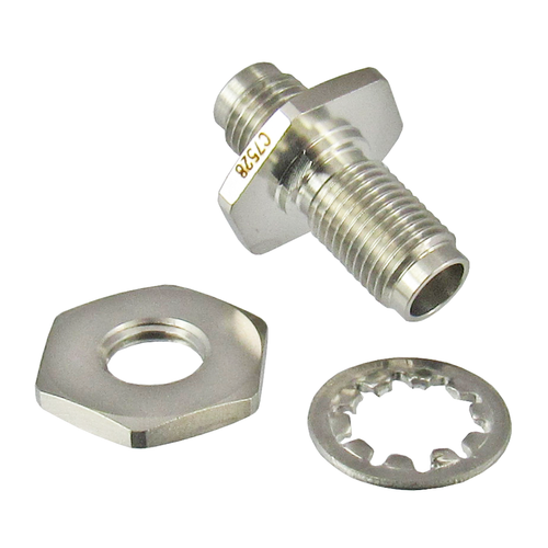 C7528 2.4mm Female to 2.4mm Female Bulkhead Centric RF