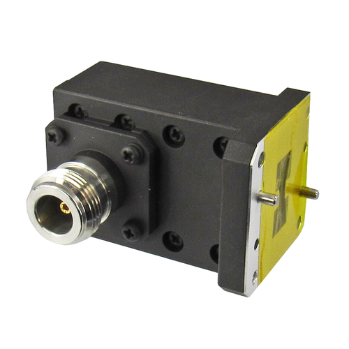 CWRD750NB Double Ridge WR750 to N Waveguide to Coax Adapter Centric RF