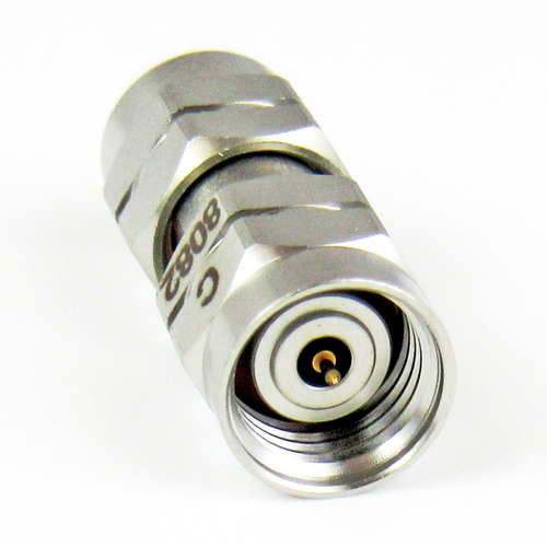 C8082   1.85mm Adapter Male to Male VSWR 1.25 Max 67Ghz
