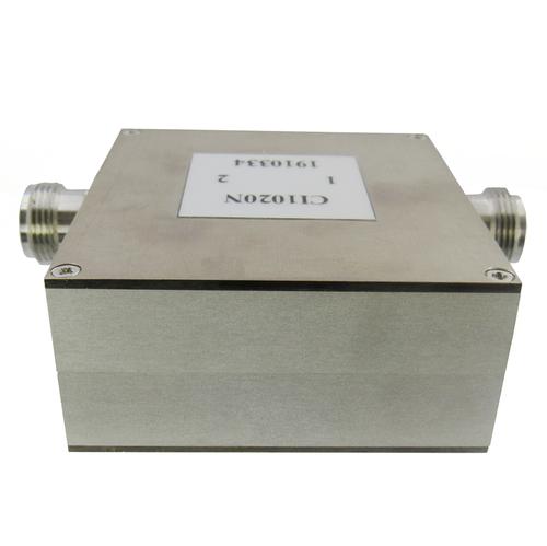 CI1020N Isolator N Female 1-2Ghz VSWR 1.35 100Watts
