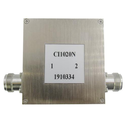 CI1020N Isolator N Female 1-2Ghz VSWR 1.35 100Watts (CI1020N)