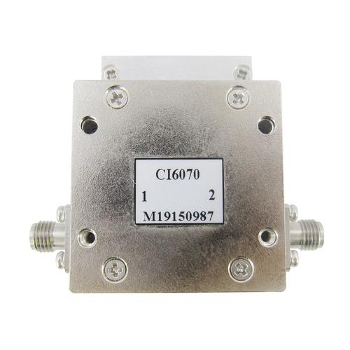 CI6070 600-700mhz Isolator SMA Female VSWR 1.2 10Watts