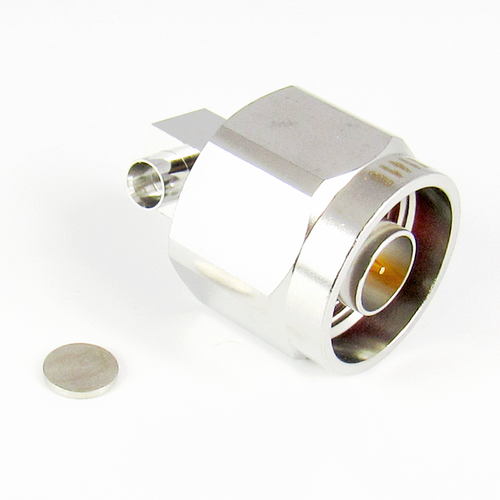 CX1415 N Male Right Angle Cable Connector Centric RF