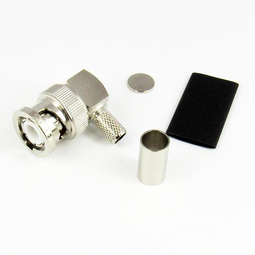 CX3195 BNC Male R Angle Connector Centric RF