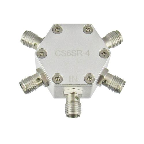 CS6SR-4 SMA 4 Way Resistive Power Divider Centric RF