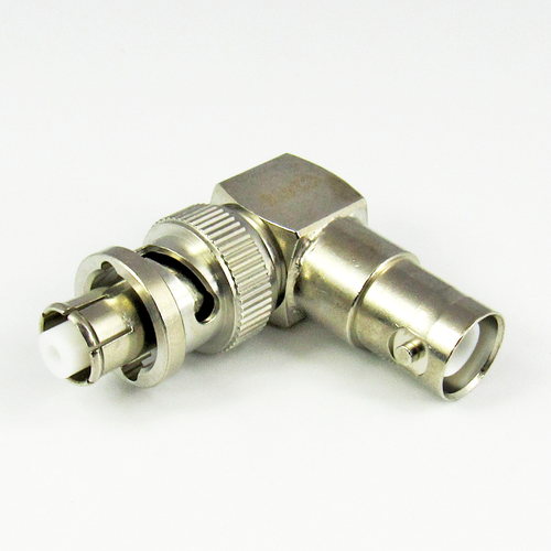 C2476 Right Angle Adapter SHV Jack-Plug Centric RF