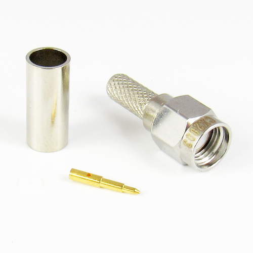 CX2003 SMA Crimp Connector for LMR200 Centric RF
