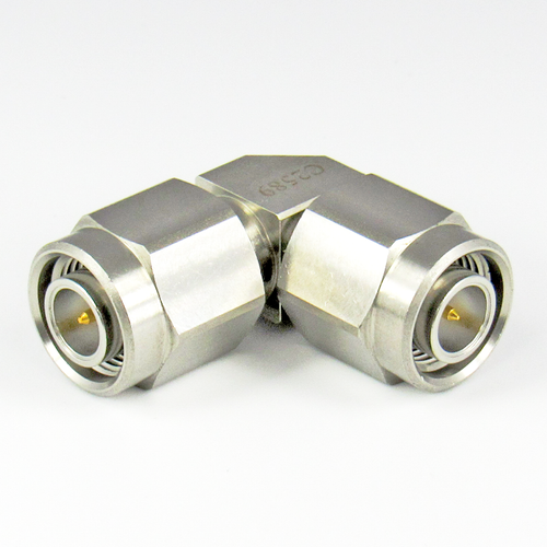 C2589 TNC Right Angle Adapter 18Ghz Male to Male Centric RF