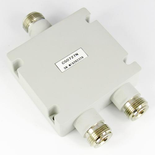 CS0727N 2-Way N Female Power Divider Centric RF