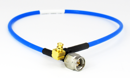 C574-086-06 SMA/Male to SMP/Female Right Angle .086 6 inch Cable Assembly Centric RF