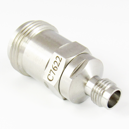 C7622 2.4mm Female to N Female Adapter Centric RF