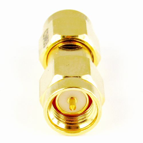 C3453 SMA Male to Male Adapter 18ghz VSWR 1.15  Au Plated S Steel