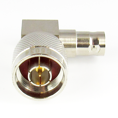 C5034 N Male to BNC Female Right Angle Adapter 4Ghz VSWR 1.3