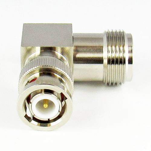 C5046 N Female to BNC Male Right Angle Adapter 4Ghz VSWR 1.3