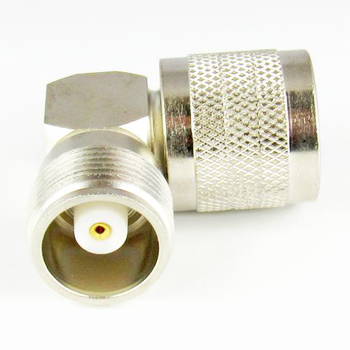 C4957 HN Male to HN Female Right Angle Adapter 4Ghz VSWR 1.25