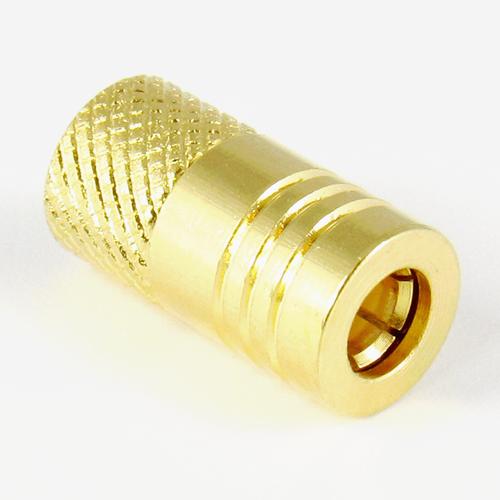 C4868 SMB Short Plug Brass Centric RF
