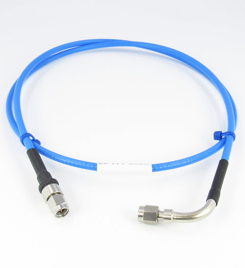 C582-141-12 SMA/M to SMA/MRA Flexible Low Loss Cable Centric RF