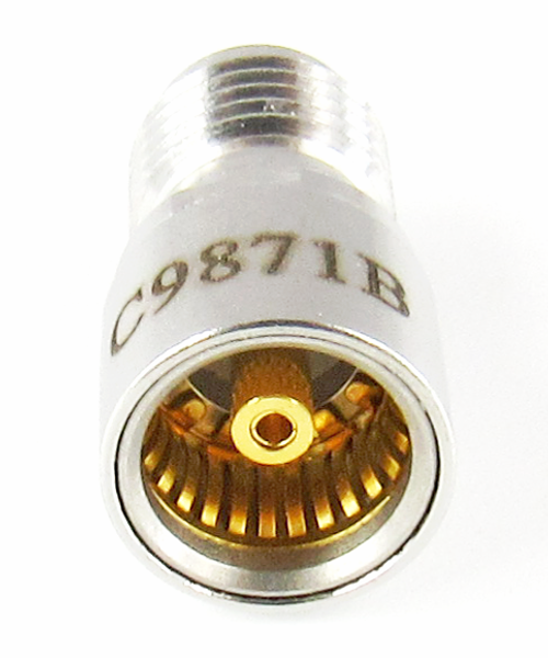 C9871B  BMA Jack to SMA Female Adapter  18Ghz VSWR 1.15 S Steel