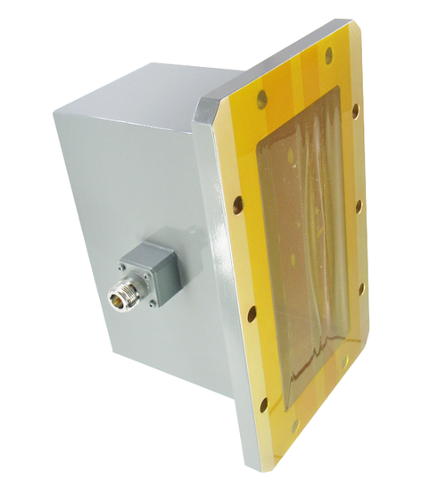 CWR650NB WR650 to N Waveguide to Coax Adapter Centric RF