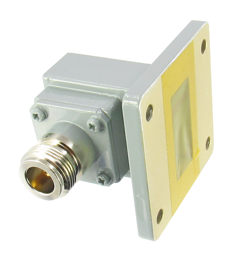 CWR112NB WR112 to N Waveguide to Coax Adapter Centric RF