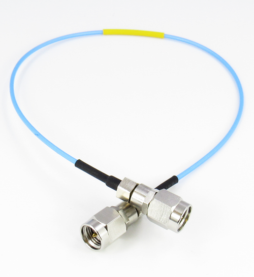 CABLE 047 FLEX SMA M/M 27GHZ VSWR 1.3 3in S STEEL SMA Centric RF