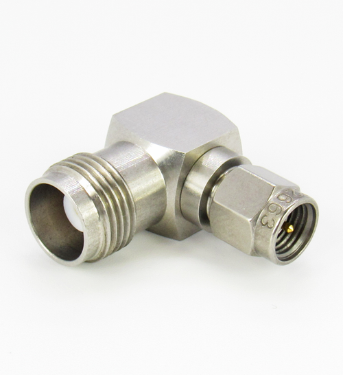 C2663 SMA Male to TNC Female Right Angle Adapter Centric RF