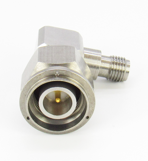 C2674 SMA Female to TNC Male Right Angle Adapter 6Ghz VSWR 1.2 S Steel