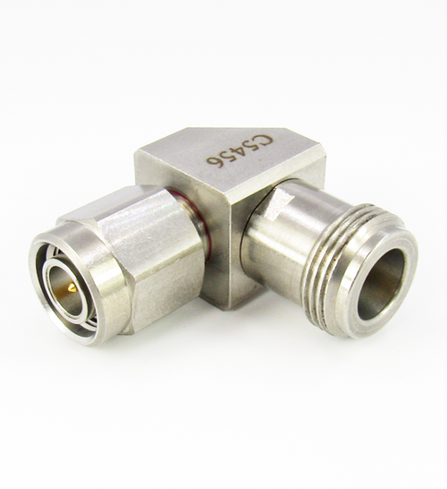 C5456 N Female to TNC Male Right Angle Adapter Centric RF