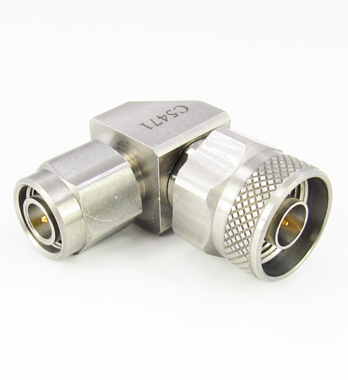 C5471 N Male to TNC Male Right Angle Adapter Centric RF