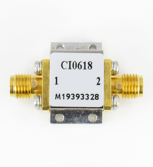 CI0618 Isolator SMA Female Centric RF