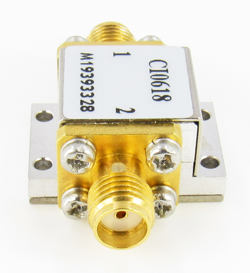 CI0618 Isolator SMA Female 6-18Ghz VSWR 1.5 10Watts